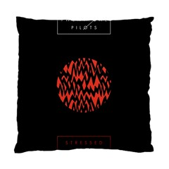 Albums By Twenty One Pilots Stressed Out Standard Cushion Case (one Side) by Onesevenart