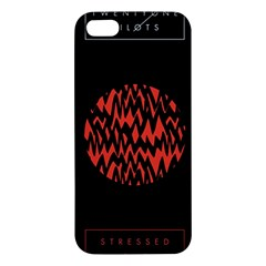 Albums By Twenty One Pilots Stressed Out Apple Iphone 5 Premium Hardshell Case by Onesevenart