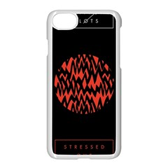 Albums By Twenty One Pilots Stressed Out Apple Iphone 7 Seamless Case (white) by Onesevenart