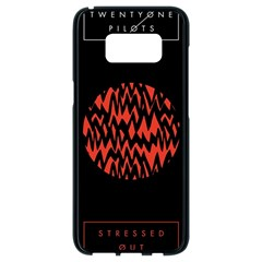 Albums By Twenty One Pilots Stressed Out Samsung Galaxy S8 Black Seamless Case by Onesevenart