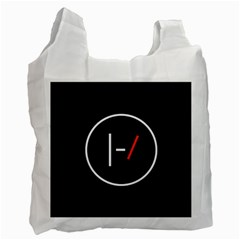 Twenty One Pilots Band Logo Recycle Bag (one Side) by Onesevenart
