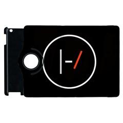 Twenty One Pilots Band Logo Apple Ipad 3/4 Flip 360 Case by Onesevenart