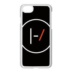 Twenty One Pilots Band Logo Apple Iphone 7 Seamless Case (white) by Onesevenart