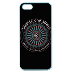 Twenty One Pilots Power To The Local Dreamder Apple Seamless Iphone 5 Case (color) by Onesevenart