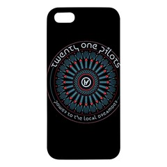 Twenty One Pilots Power To The Local Dreamder Iphone 5s/ Se Premium Hardshell Case by Onesevenart