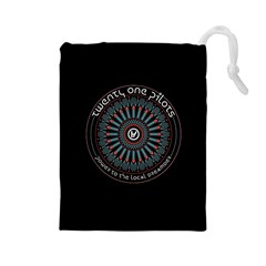 Twenty One Pilots Power To The Local Dreamder Drawstring Pouches (large)  by Onesevenart