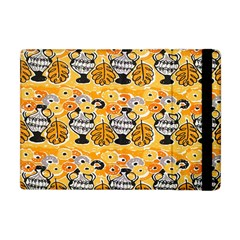 Amfora Leaf Yellow Flower Apple Ipad Mini Flip Case