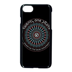 Twenty One Pilots Power To The Local Dreamder Apple Iphone 7 Seamless Case (black) by Onesevenart
