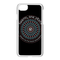 Twenty One Pilots Power To The Local Dreamder Apple Iphone 7 Seamless Case (white) by Onesevenart