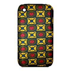 African Textiles Patterns Iphone 3s/3gs by Mariart