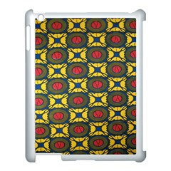 African Textiles Patterns Apple Ipad 3/4 Case (white) by Mariart