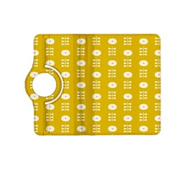 Circle Polka Chevron Orange Pink Spot Dots Kindle Fire Hd (2013) Flip 360 Case by Mariart