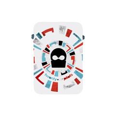 Twenty One Pilots Apple Ipad Mini Protective Soft Cases by Onesevenart