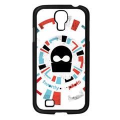 Twenty One Pilots Samsung Galaxy S4 I9500/ I9505 Case (black) by Onesevenart