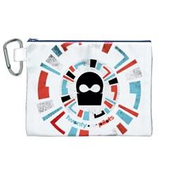 Twenty One Pilots Canvas Cosmetic Bag (xl) by Onesevenart