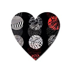 Twenty One Pilots Stressed Out Heart Magnet by Onesevenart