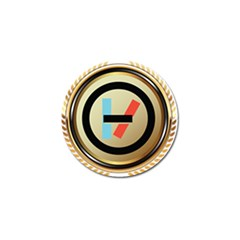 Twenty One Pilots Shield Golf Ball Marker by Onesevenart