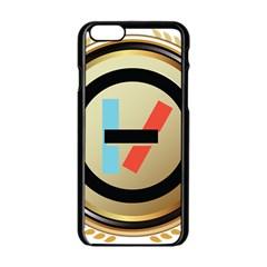 Twenty One Pilots Shield Apple Iphone 6/6s Black Enamel Case by Onesevenart