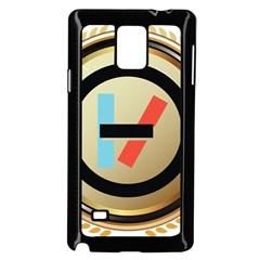 Twenty One Pilots Shield Samsung Galaxy Note 4 Case (black) by Onesevenart