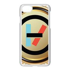 Twenty One Pilots Shield Apple Iphone 7 Seamless Case (white) by Onesevenart