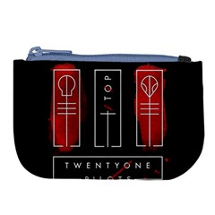 Twenty One Pilots Large Coin Purse by Onesevenart