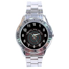 Twenty One Pilots Stainless Steel Analogue Watch by Onesevenart