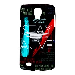 Twenty One Pilots Stay Alive Song Lyrics Quotes Galaxy S4 Active by Onesevenart