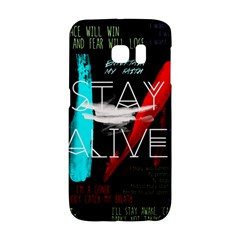 Twenty One Pilots Stay Alive Song Lyrics Quotes Galaxy S6 Edge