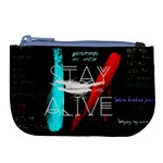 Twenty One Pilots Stay Alive Song Lyrics Quotes Large Coin Purse