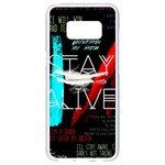 Twenty One Pilots Stay Alive Song Lyrics Quotes Samsung Galaxy S8 White Seamless Case
