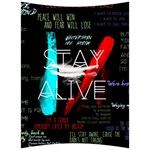Twenty One Pilots Stay Alive Song Lyrics Quotes Back Support Cushion