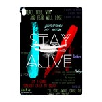 Twenty One Pilots Stay Alive Song Lyrics Quotes Apple iPad Pro 10.5   Hardshell Case