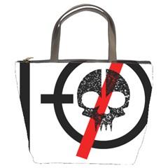 Twenty One Pilots Skull Bucket Bags by Onesevenart