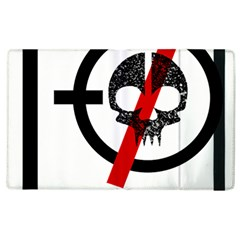 Twenty One Pilots Skull Apple Ipad 2 Flip Case by Onesevenart