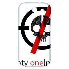 Twenty One Pilots Skull Samsung Galaxy S3 S Iii Classic Hardshell Back Case by Onesevenart