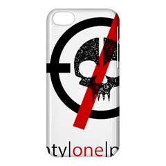 Twenty One Pilots Skull Apple Iphone 5c Hardshell Case by Onesevenart