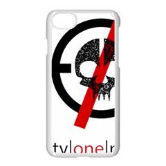 Twenty One Pilots Skull Apple Iphone 7 Seamless Case (white) by Onesevenart
