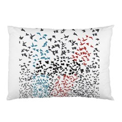 Twenty One Pilots Birds Pillow Case by Onesevenart