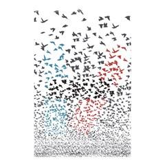 Twenty One Pilots Birds Shower Curtain 48  X 72  (small)  by Onesevenart