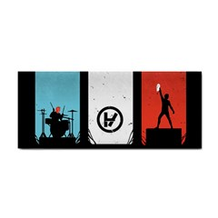 Twenty One 21 Pilots Cosmetic Storage Cases by Onesevenart