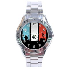 Twenty One 21 Pilots Stainless Steel Analogue Watch by Onesevenart
