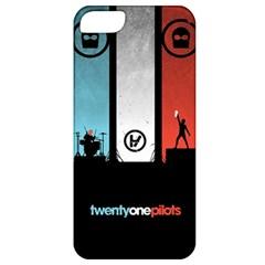 Twenty One 21 Pilots Apple Iphone 5 Classic Hardshell Case by Onesevenart