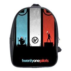 Twenty One 21 Pilots School Bag (xl) by Onesevenart
