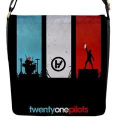 Twenty One 21 Pilots Flap Messenger Bag (s) by Onesevenart