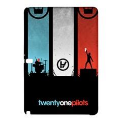 Twenty One 21 Pilots Samsung Galaxy Tab Pro 10 1 Hardshell Case by Onesevenart