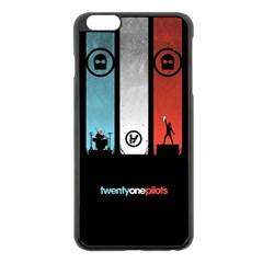 Twenty One 21 Pilots Apple Iphone 6 Plus/6s Plus Black Enamel Case by Onesevenart