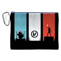 Twenty One 21 Pilots Canvas Cosmetic Bag (xxl) by Onesevenart