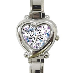Panic! At The Disco Heart Italian Charm Watch by Onesevenart