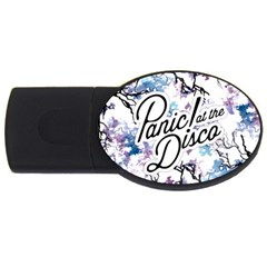 Panic! At The Disco Usb Flash Drive Oval (4 Gb) by Onesevenart