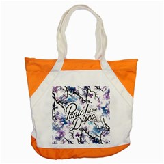 Panic! At The Disco Accent Tote Bag by Onesevenart